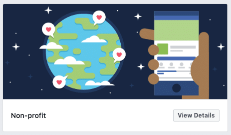 Facebook Nonprofit Template