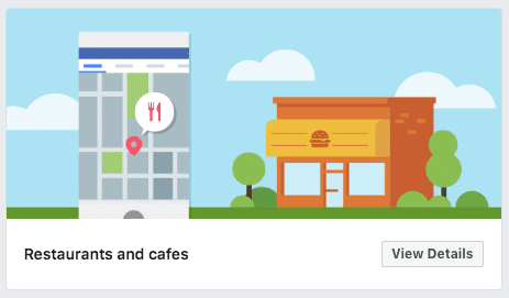 Facebook restaurant Template