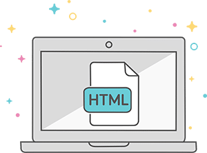 ONE PAGE HTML WEBSITE